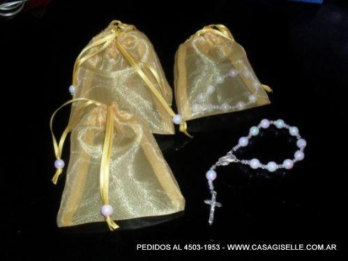 02ddca0b8 Souvenirs 10 Denarios En Bolsita De Organza Primera Comunio - $ 398,00 en  Mercado Libre
