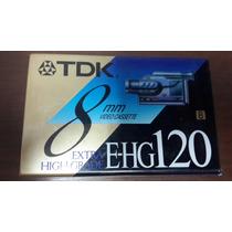 Video Cassette Tdk 8mm 120 Minutos
