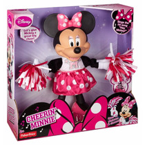Minnie Porrista Disney Fisher Price 37 Cm Blister Maltratado