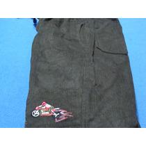 Pantalones Cotele Con Forro De Polar