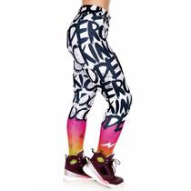 Calça Legging Fun Letters - Rock Code - Roupas Femininas