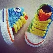 Vendo Zapaticos Y Boticas Fashion Tejidos Para Bebés