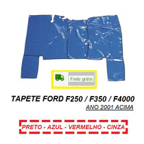Tapete Verniz Caminhão Ford F250 F350 F4000 Ano 2001 Acima