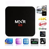 Tv Box 4k Android Mxr Google Tv Pc Hdmi Quadcore Wifi Netfix