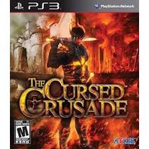 Jogo The Cursed Crusade Ps3 Mídia Física Novo Lacrado