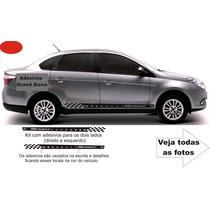 Kit Faixa Lateral Fiat Grand Siena Acessórios / Não É Friso