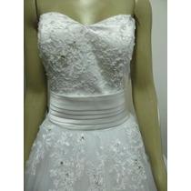 Vestido De Noiva Rendado - Promoção!