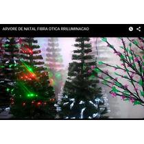 Arvore De Natal Led Ou Fibra Otica Veja O Video 1,50 Metros