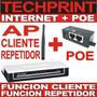 Ap Cliente Wifi Atheros Largo Alcance + Poe Internet Gratis