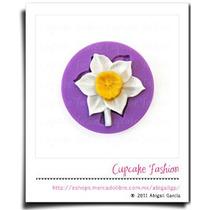 Molde Silicón Flor Flores Pasta Flexible Decoración #1005