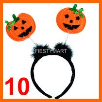10 Diademas Halloween Tela Fiestas Disfraz Dj Terror