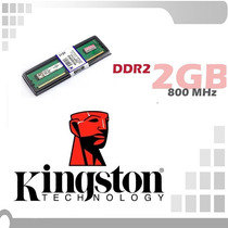 Memoria Ram Kingston 2gb Ddr2 800mhz Compatible 667 Pc2-6400