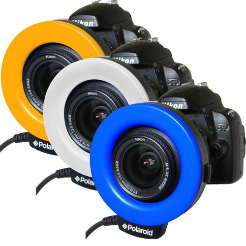 Flash Macro Ring P/ Camara Dslr Canon Con 4 Difusores Fn4 - $ 2,968.90 en Mercado Libre