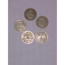 Moedas Brasil Império E República...100 Réis