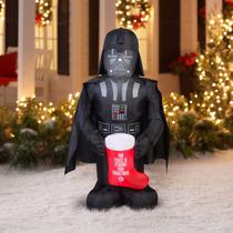 Envio Gratis Darth Vader Inflable 152cm Navidad Navidad
