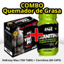 Combo Quemador De Grasa Ena Hydroxy Max + Carnitina Ppe