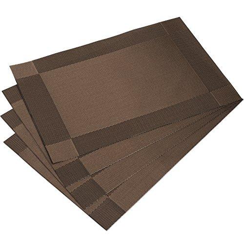 Dinachef manteles individuales para la mesa de comedor o for Manteles individuales para mesa