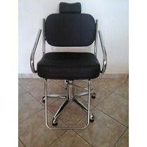 Cadeira Hidráulica Pratic Base Estrela .. Leia Frete Gratis