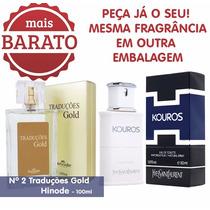 Perfume Conc. Kouros Fraicheur Fragrância Importado Hinode