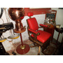 Salão De Barbearia Antigo Com Acessorios (cadeira)séc.xix