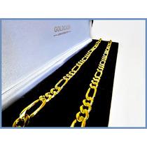 Cadena Oro Amarillo Solido 10k Mod. Cartier De 6mm 29grs Acc