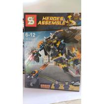 Boneco Lego Wolverine Padrão Lego Robô Com 278 Pçs