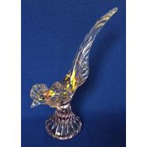 Figura De Cristal De Murano En Forma De Gallo