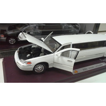 Lincoln Limousine 2003 1/24 Sunnyside.blanca Y Negra.
