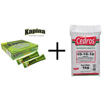 Kapina Herbicida Seletivo Mata Tiririca + Adubo Fertilizante