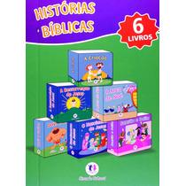 Histórias Bíblicas Box Com 06 Livros - Ciranda Cultural