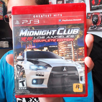 Jogo Midnight Club Los Angeles Complete Edition Ps3