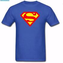 Camiseta Infantil Super Homem - Personalize A Estampa