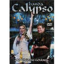 Dvd - Banda Calypso: Ao Vivo Em Goiânia Orignal Lacrado Novo