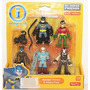 Fisher Price - Imaginext - Set Figuras - Batman Y Villanos