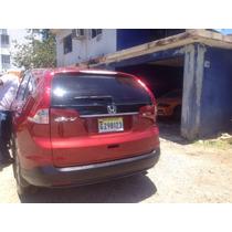 Honda Cr-v 2013 Limited 4wd Rojo Ladrillo