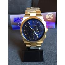 Relogio Michael Kors Mk8338 Gold 100% Original 12x S/ Juros