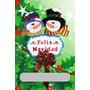 Navidad Foami Muñecos De Nieve-pareja-decoración--