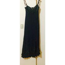 Vestido De Noche Messteen Color Negro Talla 15