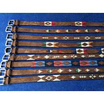Cinturones De Huaso Carpincho Bordado Cainva