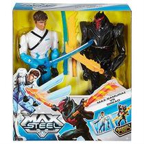 Boneco Max Steel - Max Samurai Vs Dread