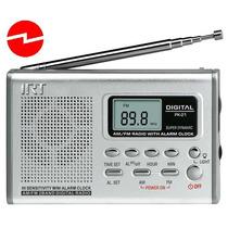 Mini Radio Reloj Alarma Digital Irt Fm/am De Bolsillo