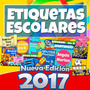 Etiquetas Escolares Kit Imprimible 2016 100% Editables + 5gb<br><strong class='ch-price reputation-tooltip-price'>$ 99<sup>00</sup></strong>