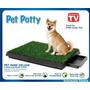 Baño Ecológico Portatil Para Perros Pet Park Deluxe