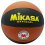 Balon De Basket Mikasa #7 Marron Negro Modelo 1512ebrbl