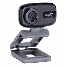 Camara Web Genius Face Cam 321 8mp Con Microfono