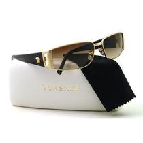 Gafas Versace Ve2021 Sunglasses Marco Del Oro / De Brown Gr