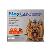 Nexgard 2-4 Kg Pastilla Antigarrapatas.