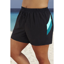 Shores Playeros Para Damas Talla Plus Importados Gorditas