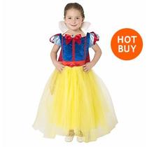 Vestido Princesa Blanca Nieves Disney