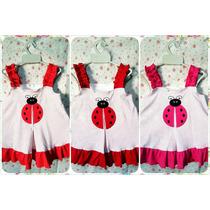 Vestidos Ladybug 2 Remato 3 Ultimos